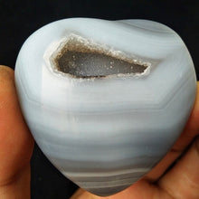 Load image into Gallery viewer, Druzy Agate Crystal Heart