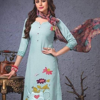 floral printed indian kurtis
