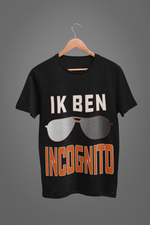 Ik ben Incognito-T-shirts-By Jozef