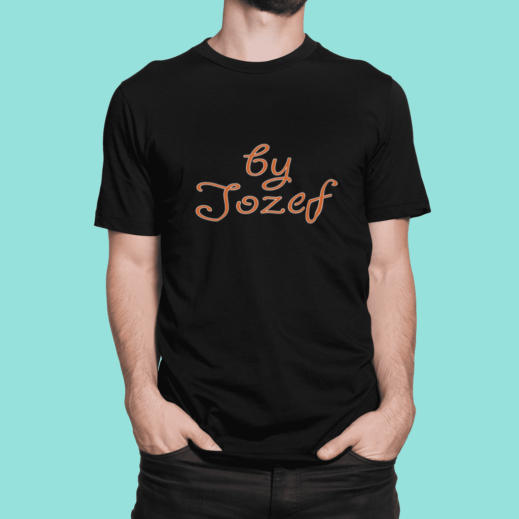 Black (Unisex Style)-T-shirts-By Jozef