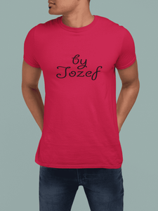 By Jozef - Red (uniseks)-T-shirts-By Jozef