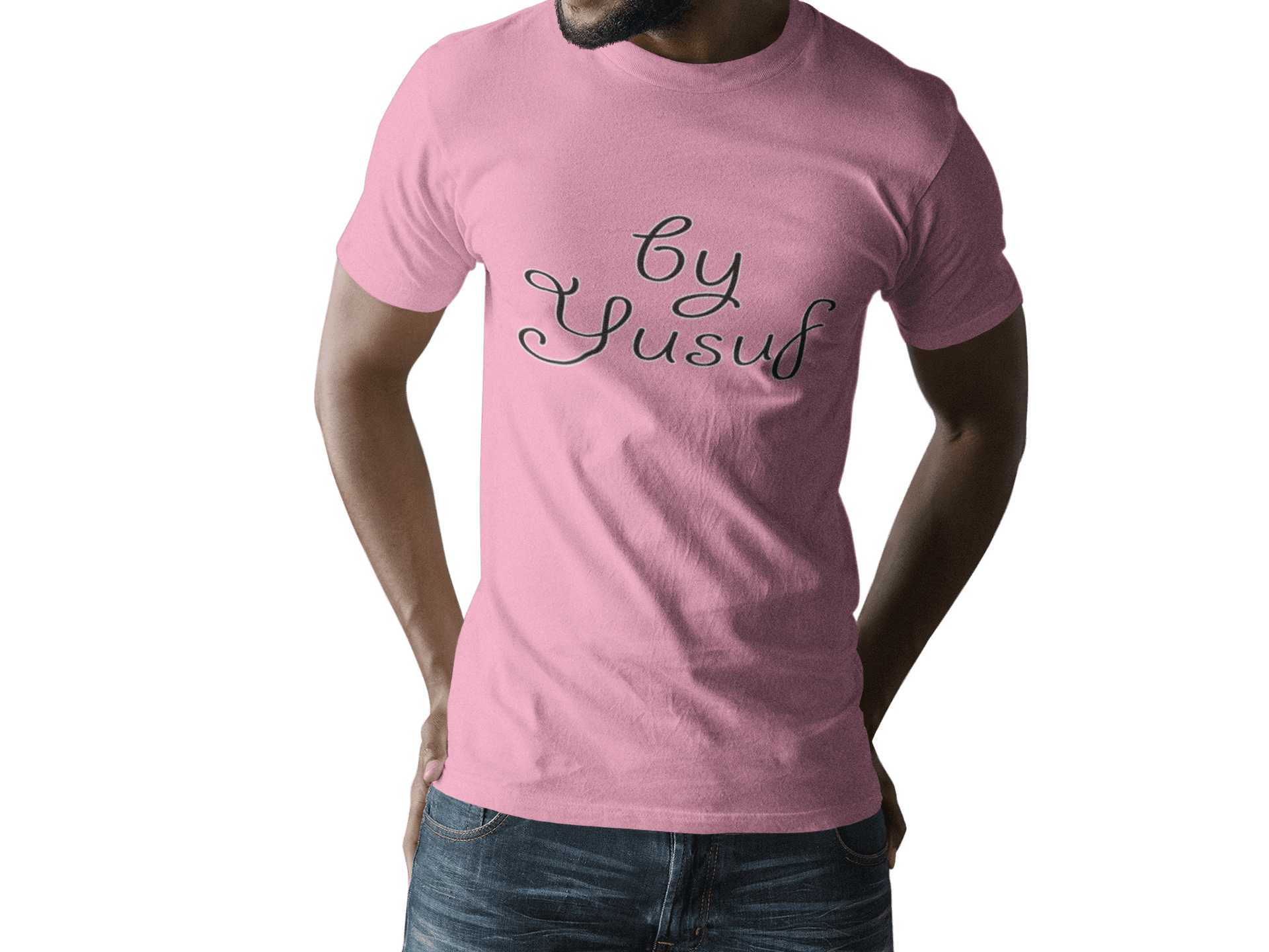 By Yusuf - Pink (uniseks)-T-shirts-By Jozef
