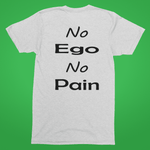 No ego no pain white