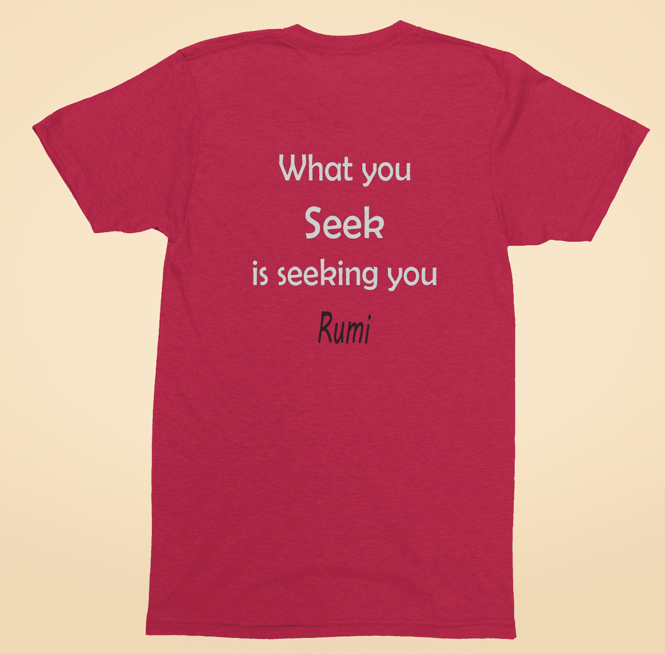 What  you seek red