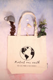 Eco-friendly Grocery Bag with Inner Pocket (Save the Earth)