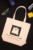 Eco-friendly Grocery Bag with Inner Pocket (Melting Bear)