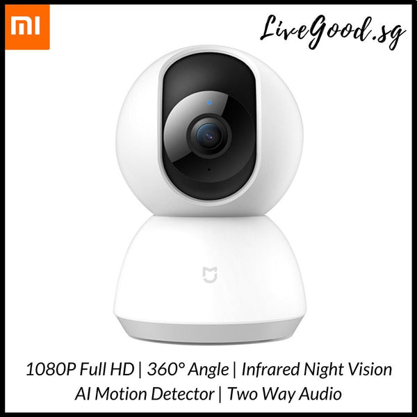 NEW!!! Xiaomi Mijia Home Security Camera 360° 1080P HD with Infrared Night Vision