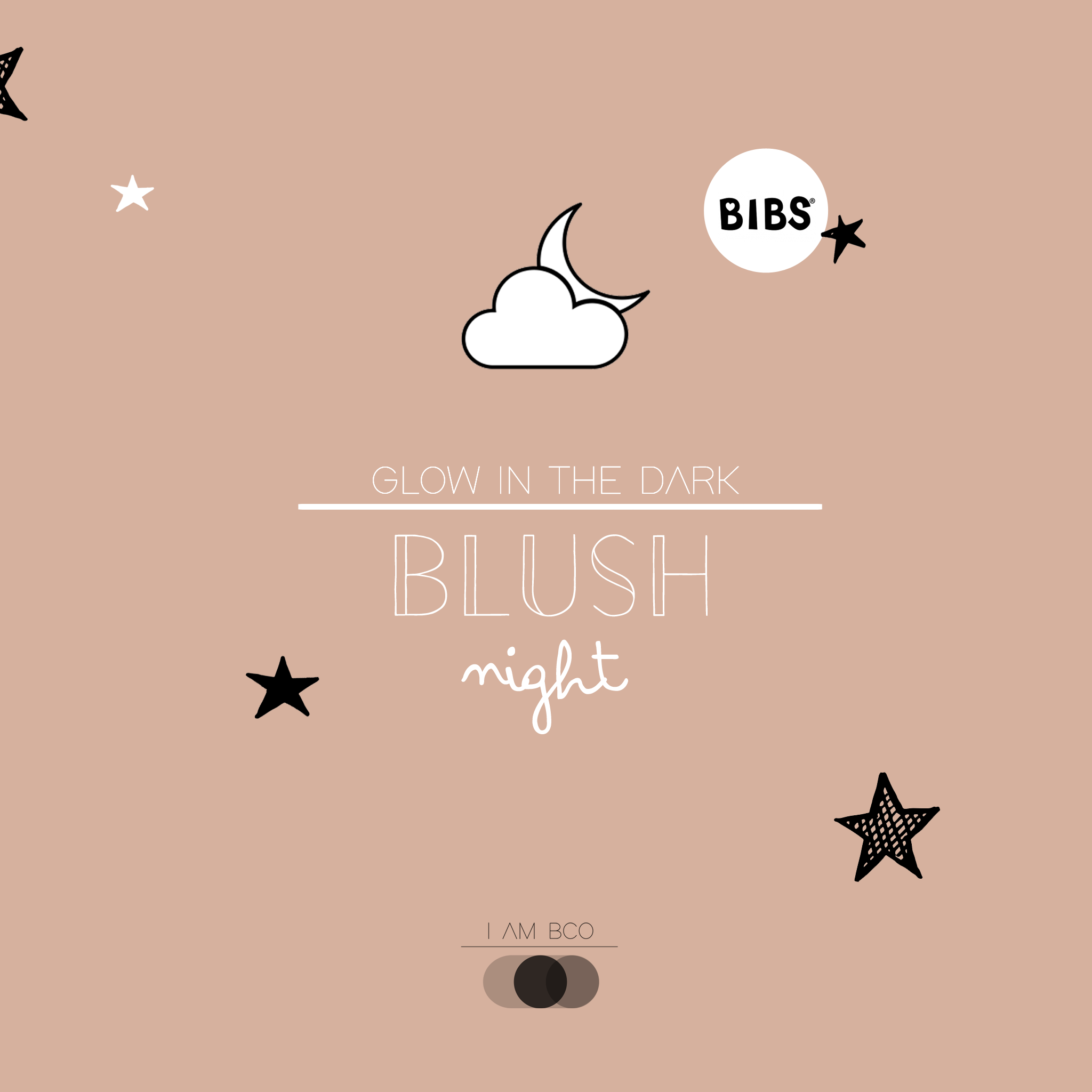 Bibs Blush Night