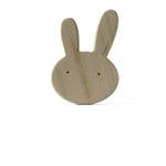 I AM BCO conscious Lifestyle Bunny Timber Teether Cheengoo Ethical and eco friendly Maple