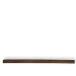 Float photo ledge african walnut