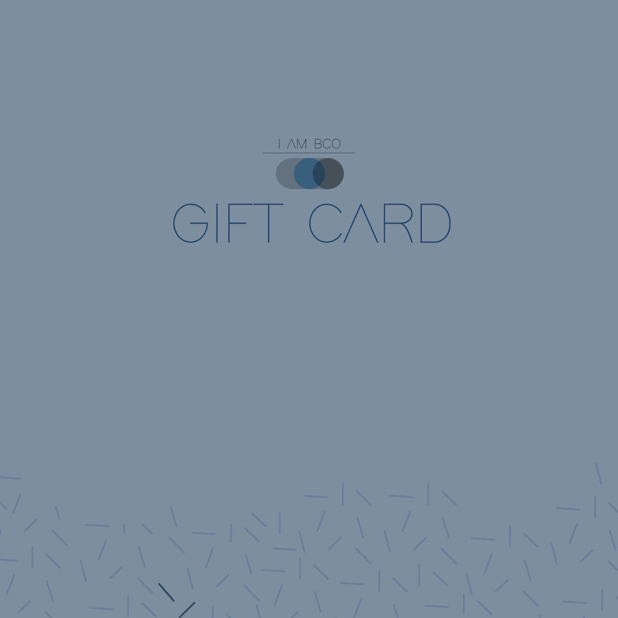 I AM BCO Gift Cards