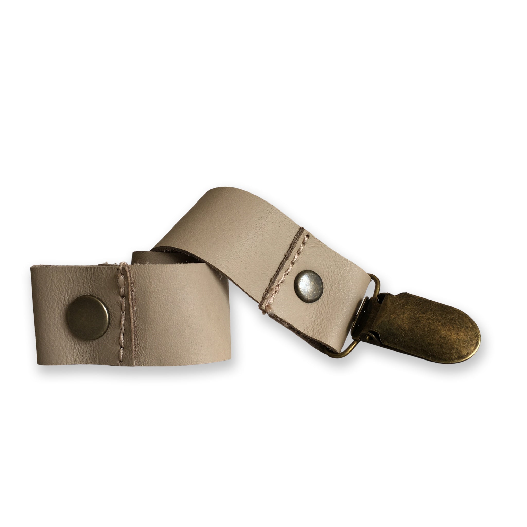 Leather Paci Clip