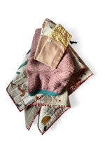 I AM BCO STORQ XL custom cotton quilt knitted blanket and toy bags