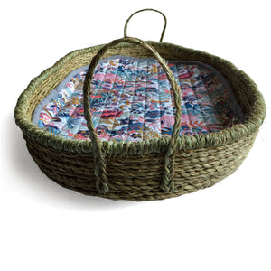 I AM BCO Pill Change Tray & liner Handwoven Natural fibres Simple & sustainable Flexible & textured Versatile