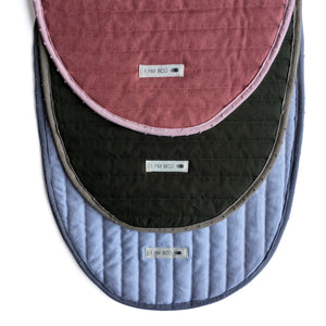 I AM BCO Pill Change Tray & quilted liner Handwoven Natural fibres Simple & sustainable Flexible & textured Versatile
