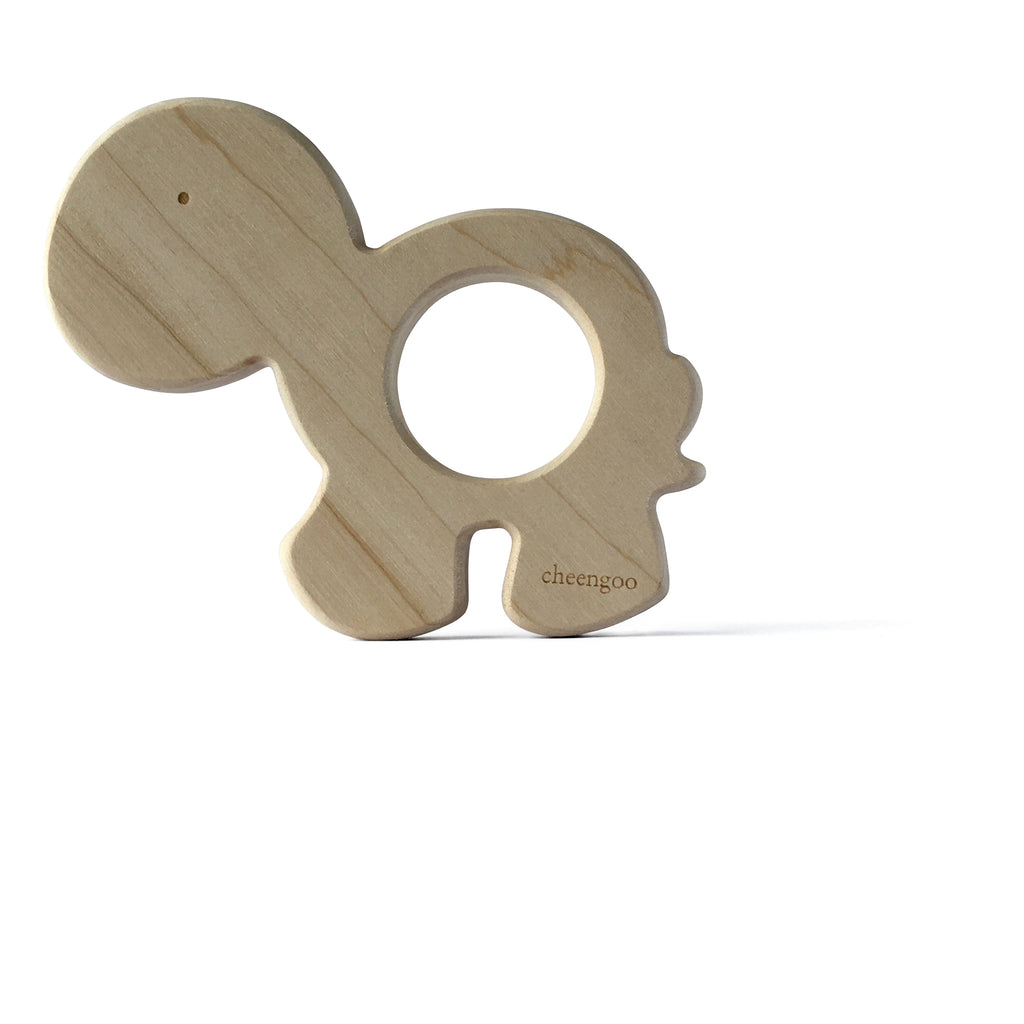 I AM BCO conscious Lifestyle Turtle Timber Teether Cheengoo Ethical and eco friendly Maple