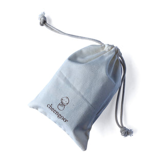 I AM BCO conscious Lifestyle Muslin cotton bag Cheengoo Ethical and eco friendly
