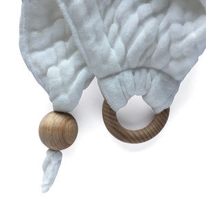 Conscious Lifestyle  Comfort/Cuddle/Burp - White & Natural Wood