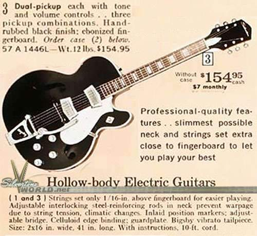 My Vintage Guitar and Gear Wishlist.... and why I think these things are cool