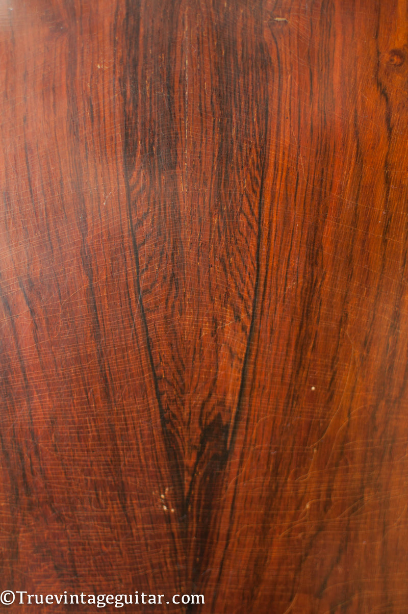 One easy way to distinguish Brazilian Rosewood from Indian Rosewood