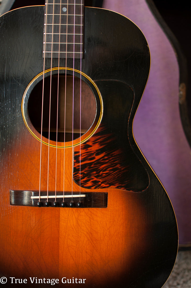How to date vintage Gibson acoustic guitar