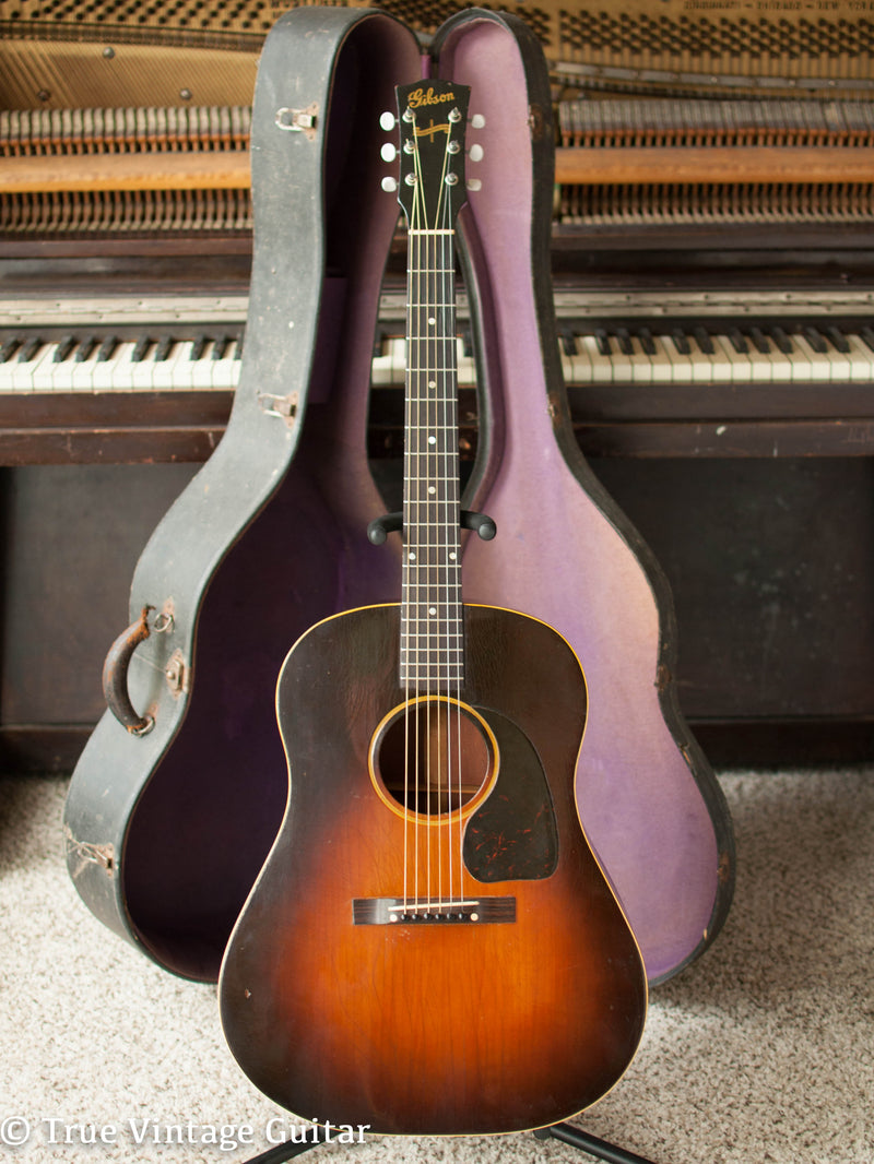 Vintage 1943 Gibson J-45 acoustic guitar