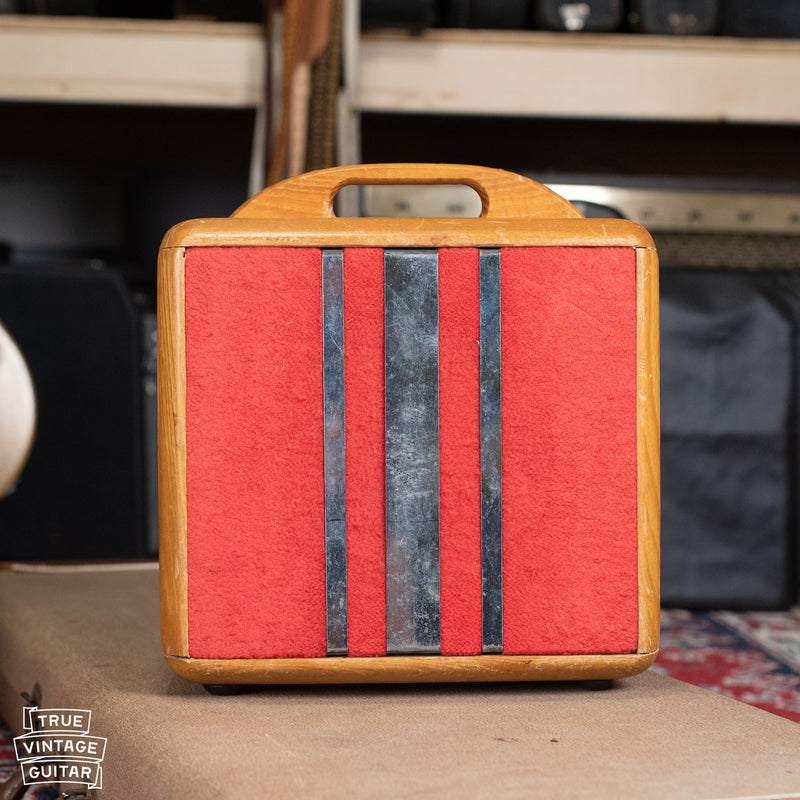 1946 Fender Princeton Woody Amp Maple Red