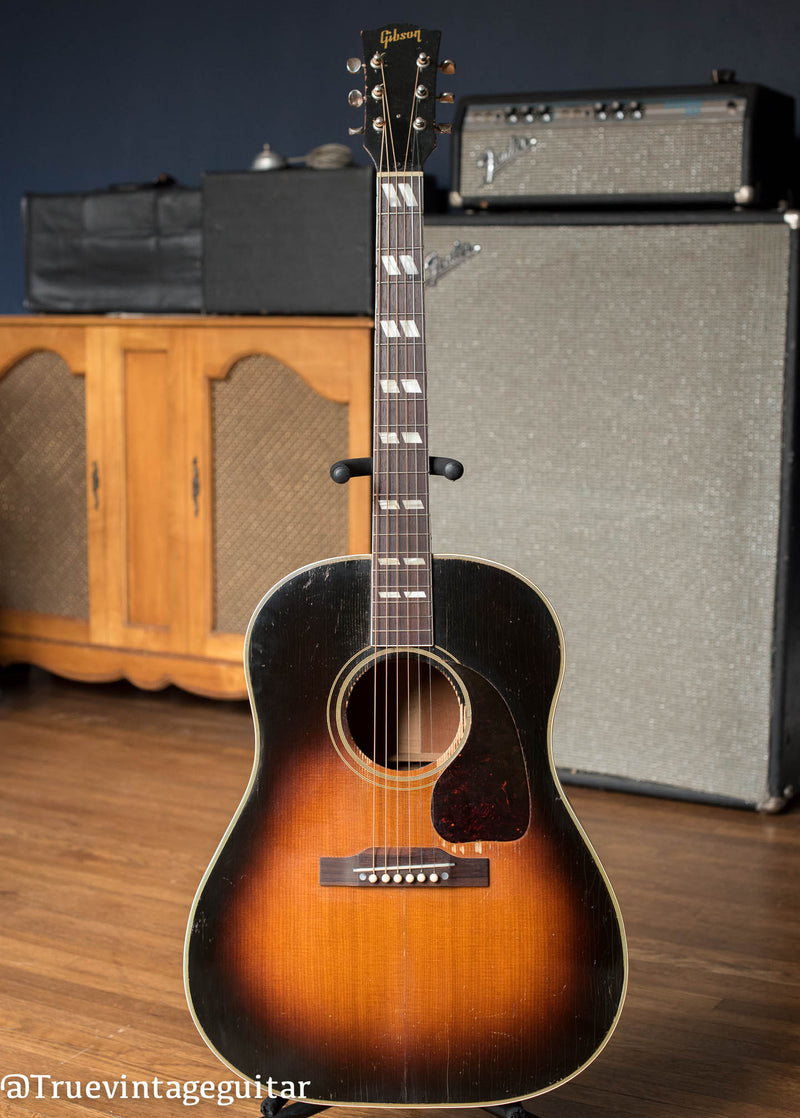 Vintage 1950 Gibson SJ acoustic guitar