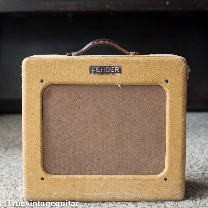 Fender Deluxe guitar amp tweed vintage 1950