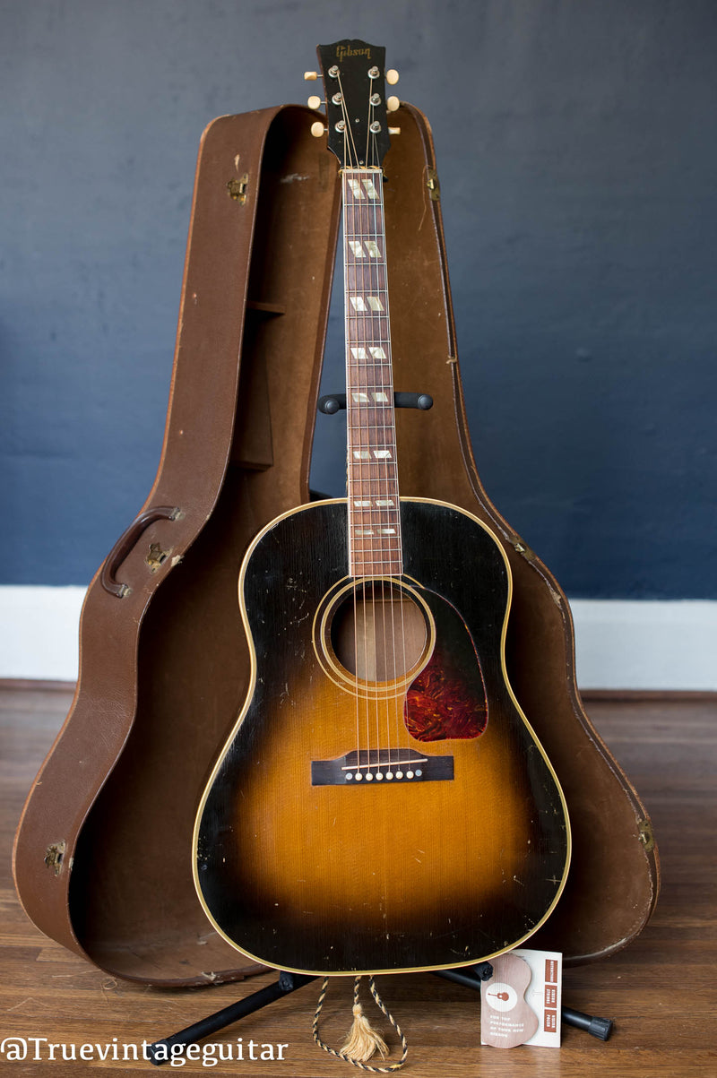 Vintage 1951 Gibson SJ acoustic guitar