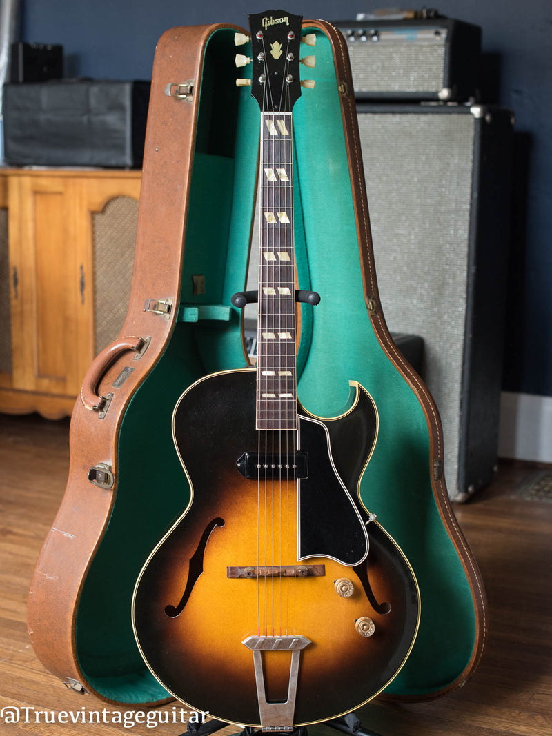 Vintage 1951 Gibson ES-175 archtop electric guitar