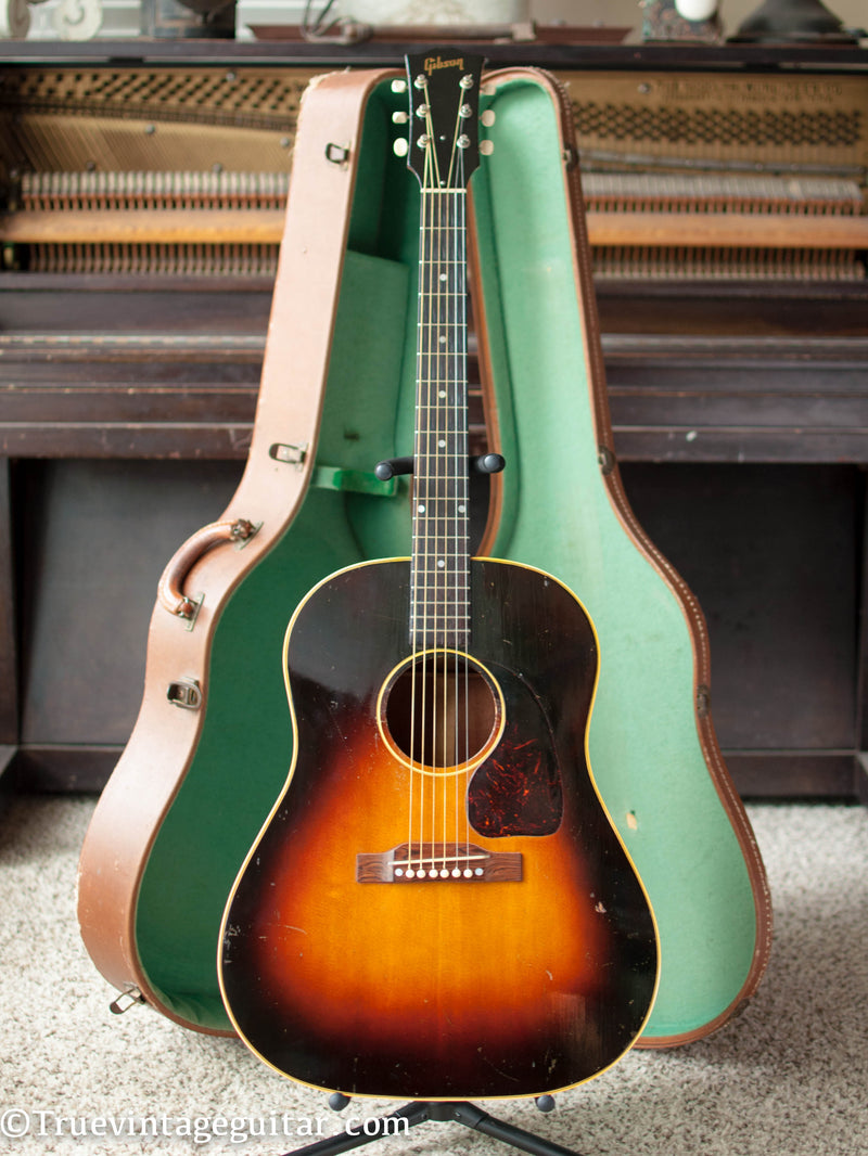 Gibson J-45 acoustic guitar vintage 1953 1950s