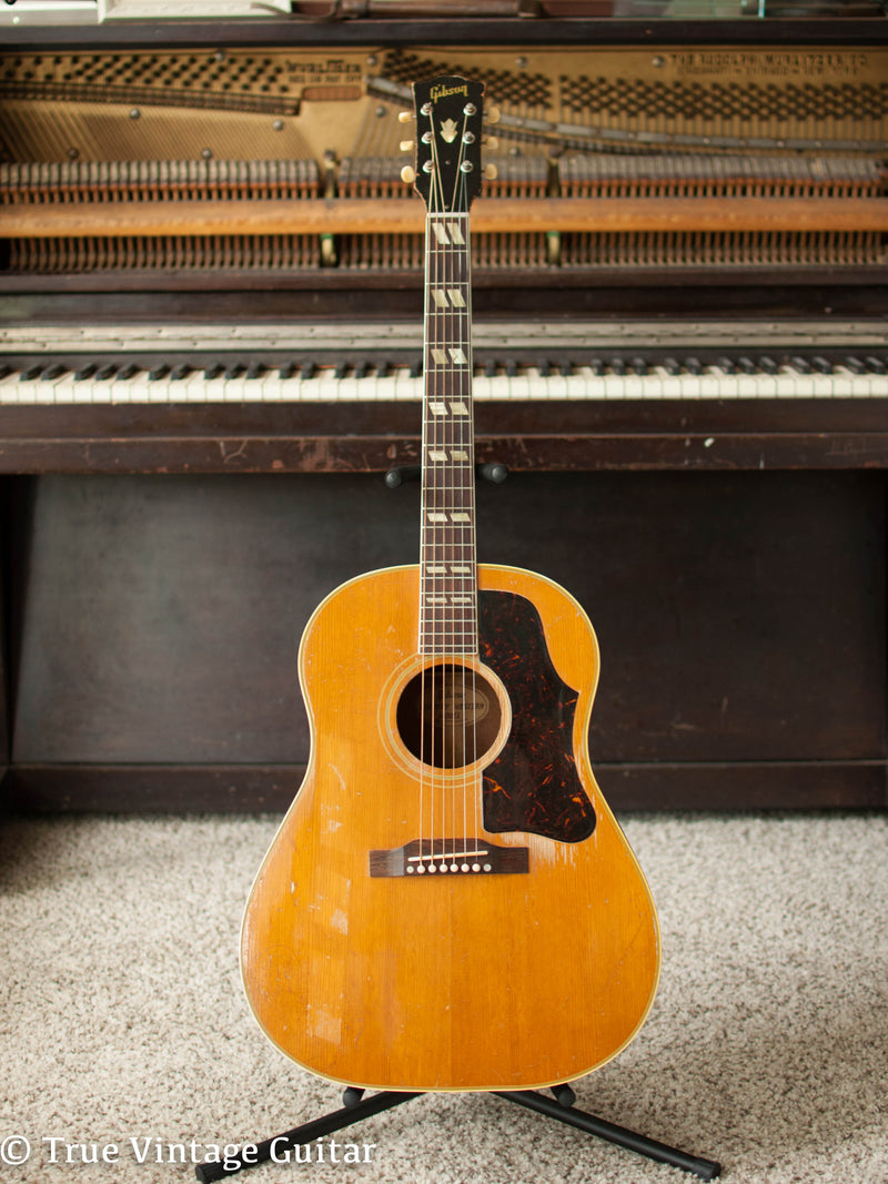 Vintage 1956 Gibson Country Western acoustic guitar