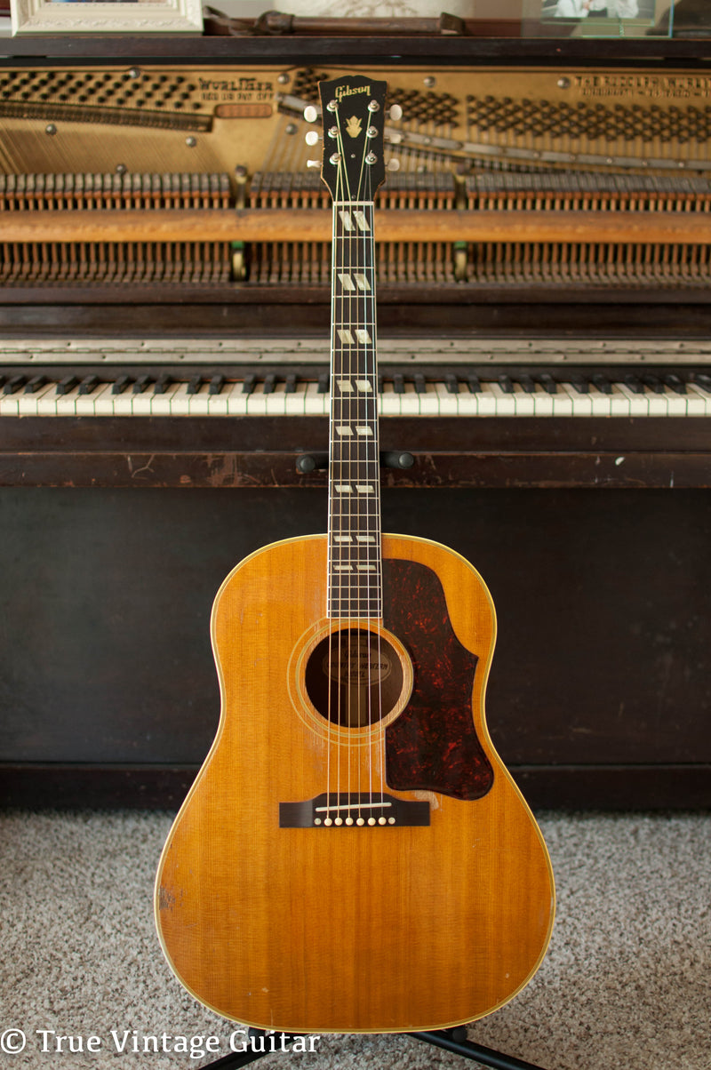 Vintage 1957 Gibson Country Western acoustic guitar