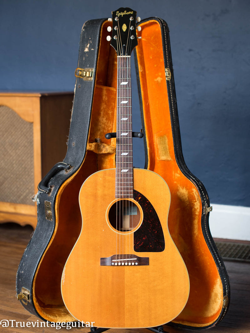 Vintage 1958 Epiphone FT-79N Texan acoustic guitar