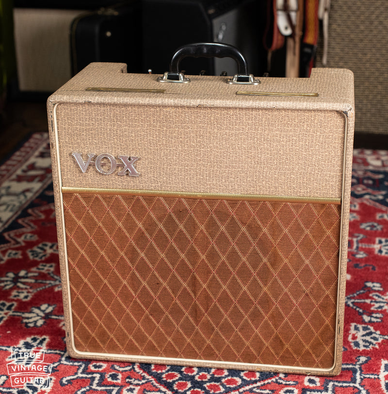 vintage 1962 Vox AC10 Amp Fawn