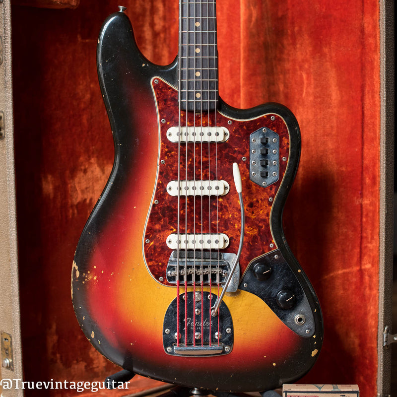 1963 Fender VI, Sunburst, Bass 6, body