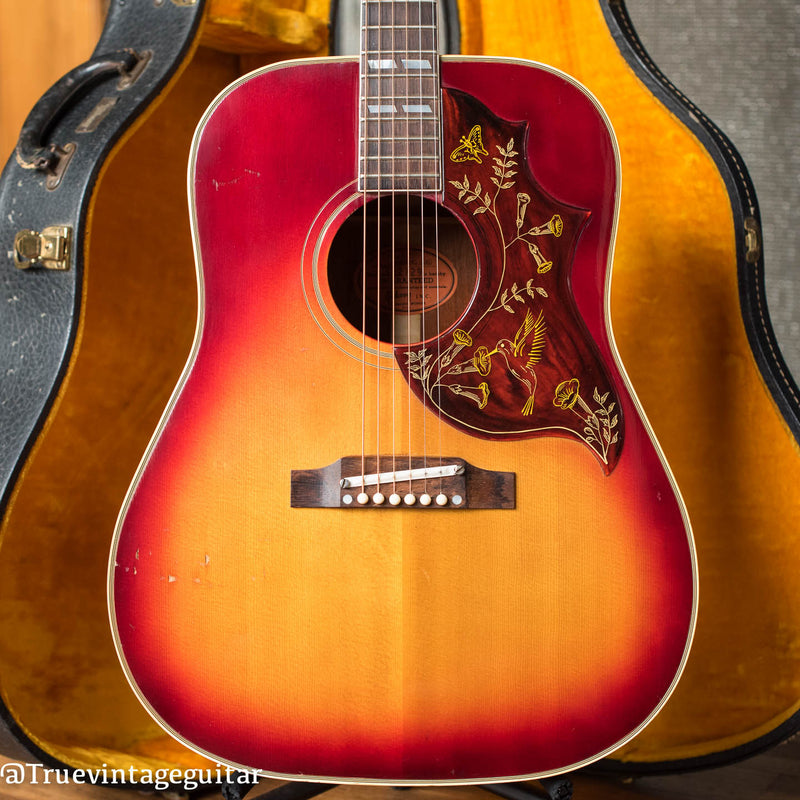 Vintage 1963 Gibson Hummingbird acoustic guitar