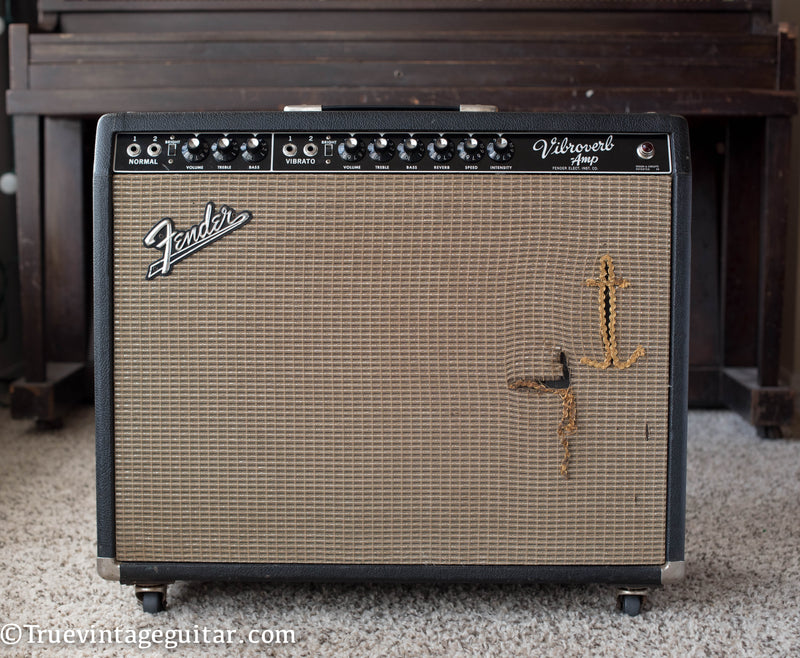 Vintage 1964 Fender Vibroverb guitar amplifier