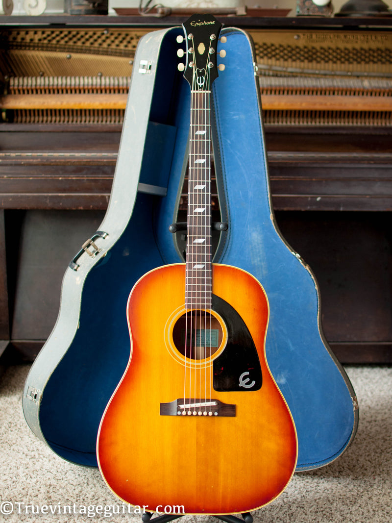 Vintage 1965 Epiphone FT-79 Texan acoustic guitar