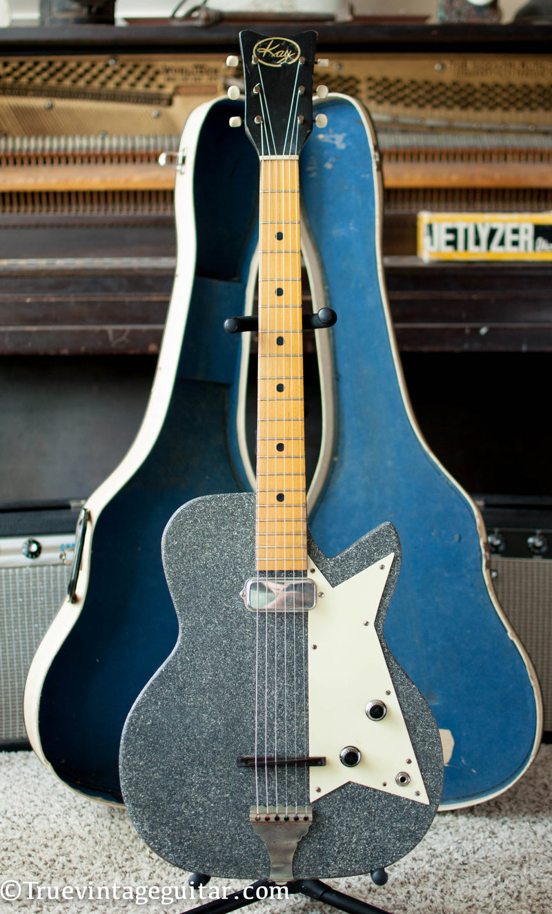 Vintage 1959 Kay Sizzler electric guitar