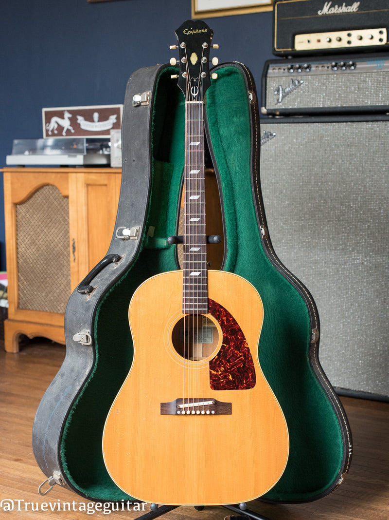 Vintage 1965 Epiphone FT-79 N Texan acoustic guitar