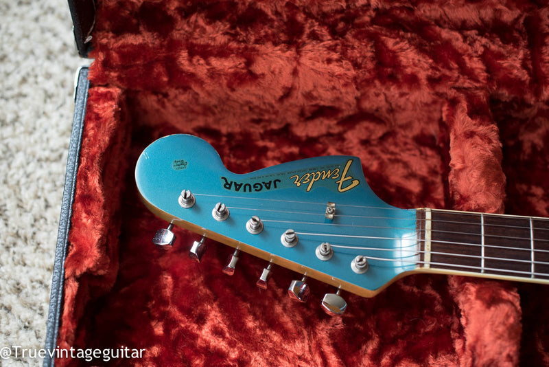 Sound Clip: 1966 Fender Jaguar Lake Placid Blue