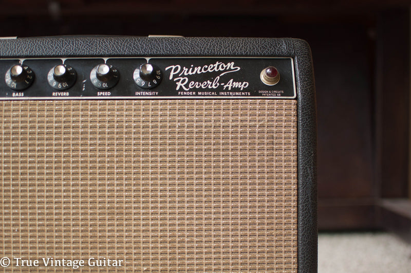 The Fender Princeton Reverb Amp 1964-1967