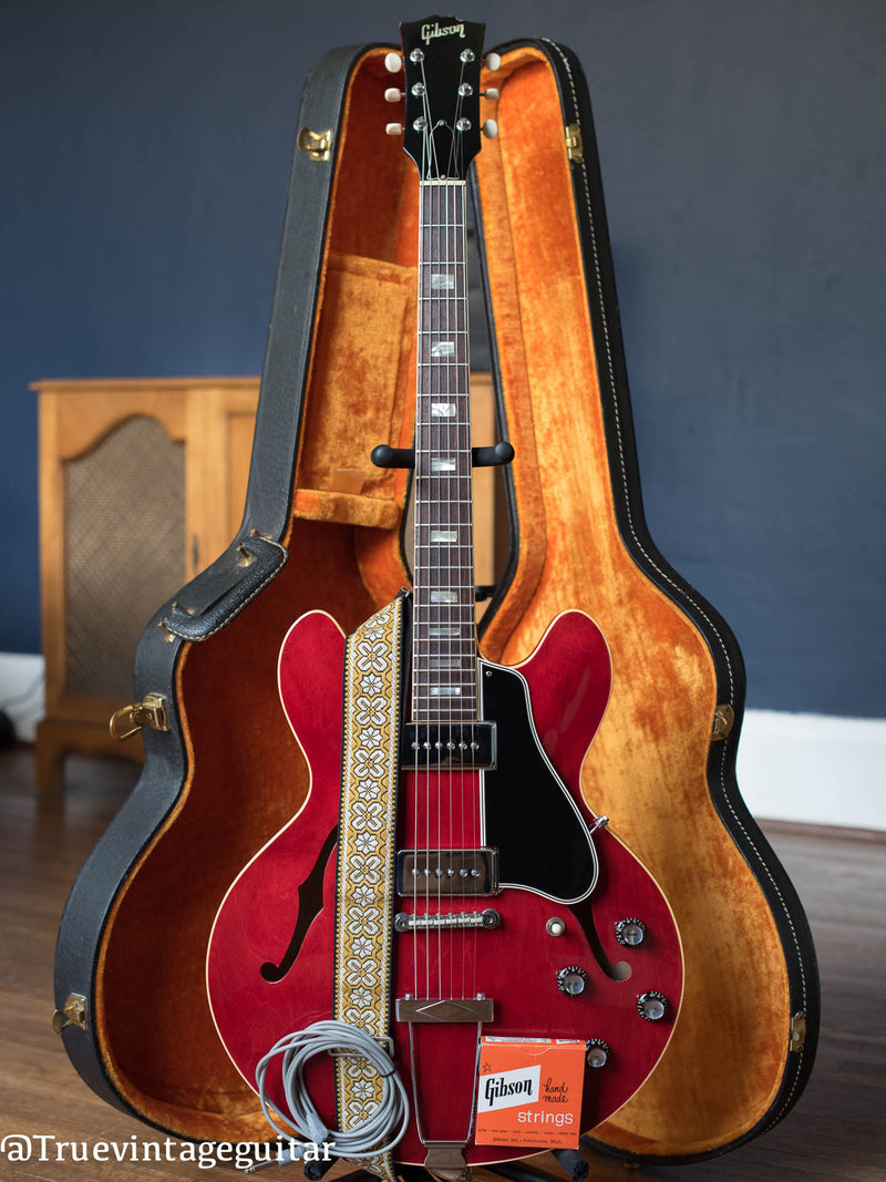 1966 Gibson ES-330 TDC Cherry Red Vintage Guitar