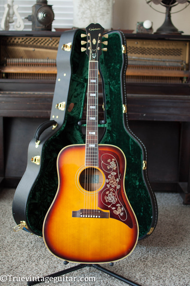 1967 Epiphone FT-110 Frontier acoustic guitar