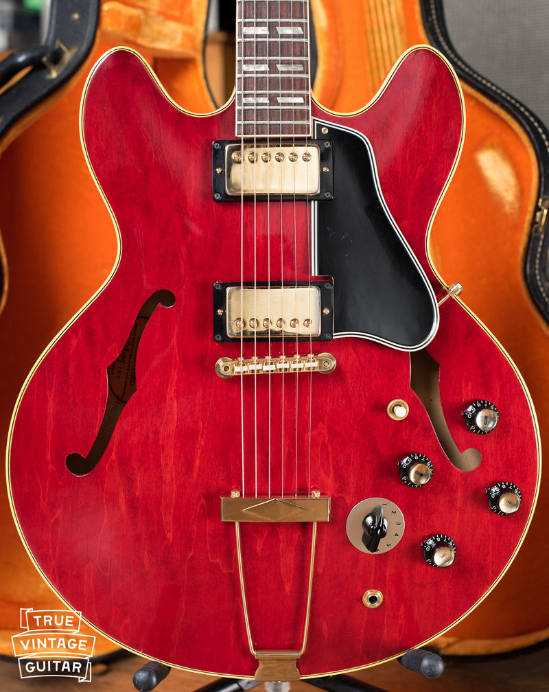 Vintage 1967 Gibson ES-345 TDC Stereo Varitone Electric Guitar