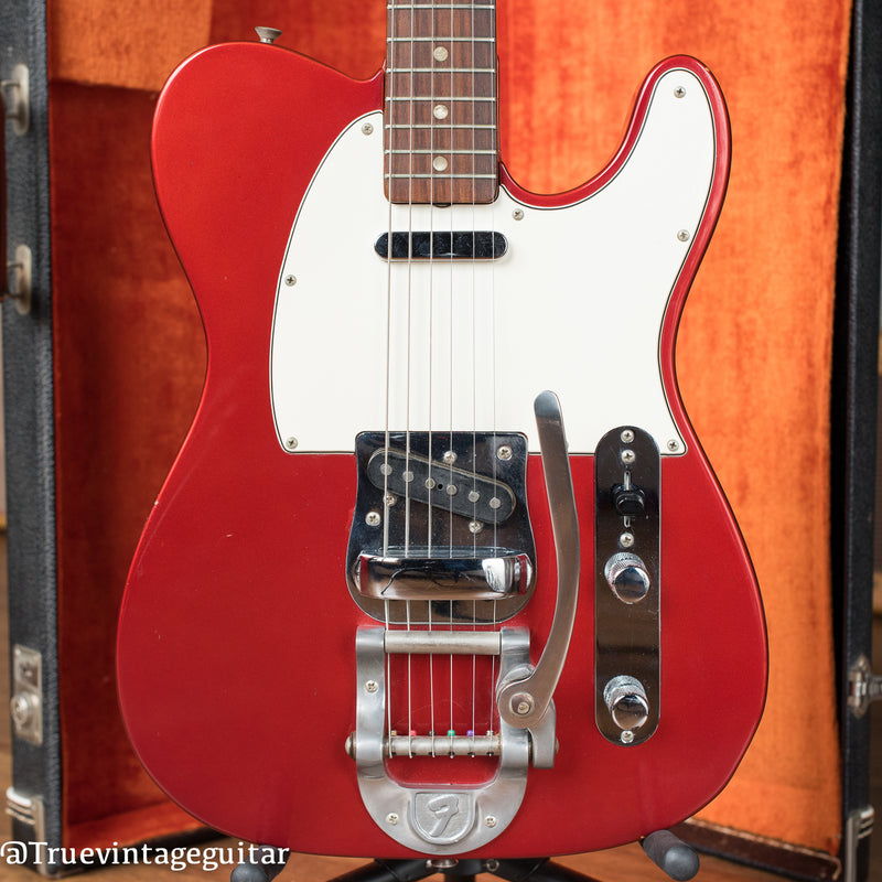 1968 Fender Telecaster Candy Apple Red Metallic Bigsby