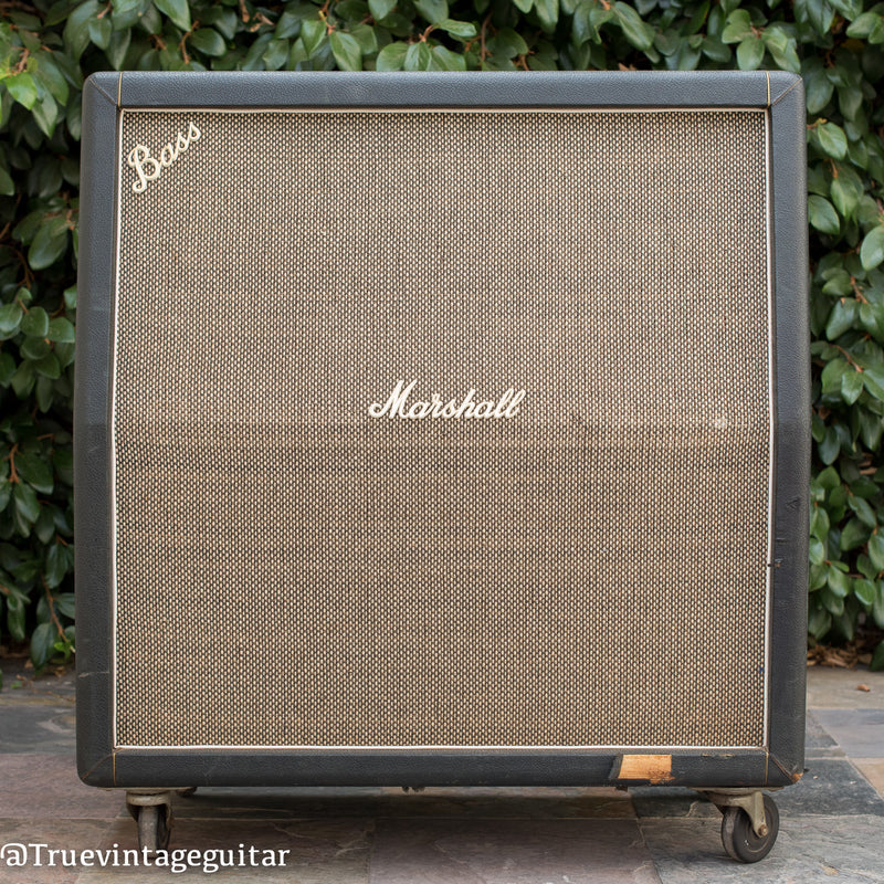 1968 Marshall 1982a Bass Cabinet pre-Rola Celestion Speakers
