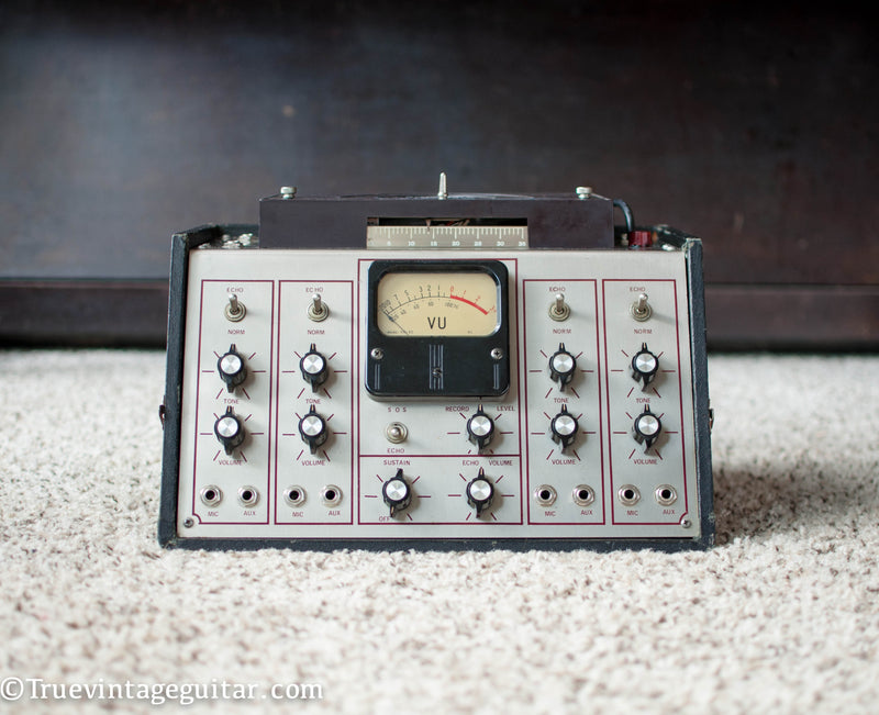 1971 Maestro Echoplex EM-1 Groupmaster red line tape echo